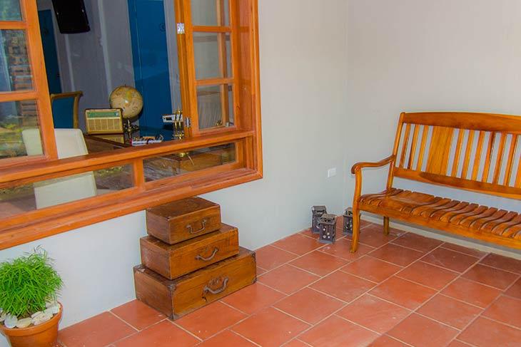 porch del hostal
