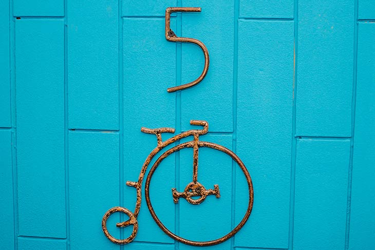 puerta de habitación 5