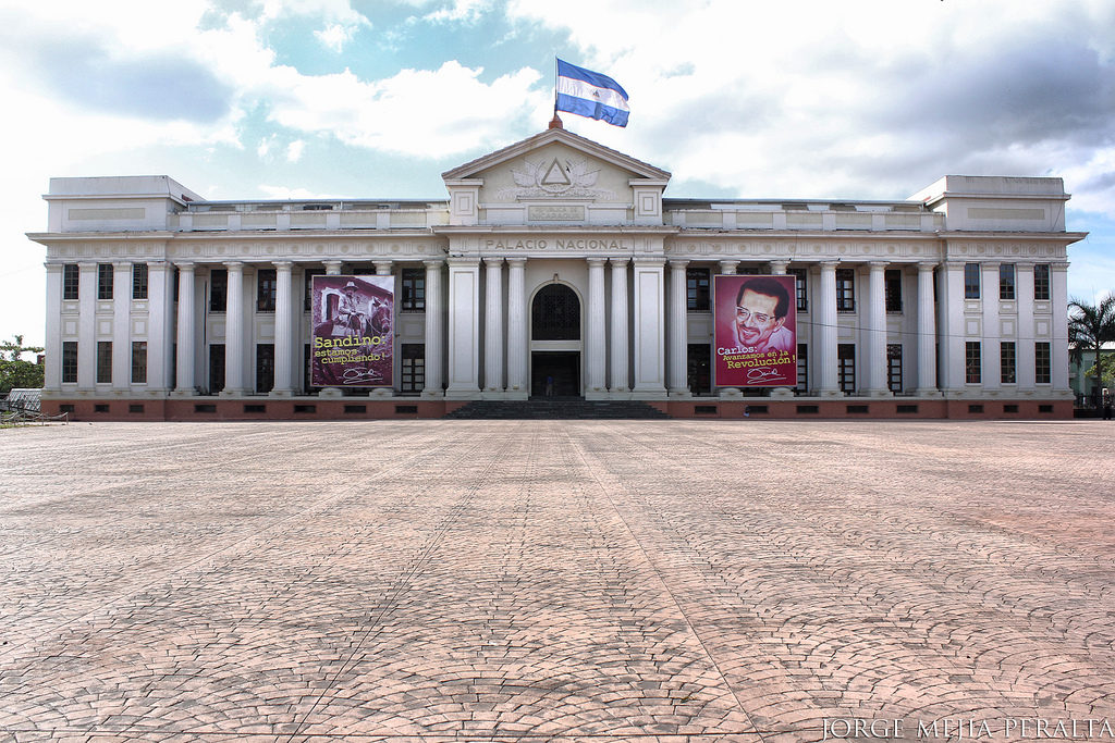 National Palace of Culture in Managua