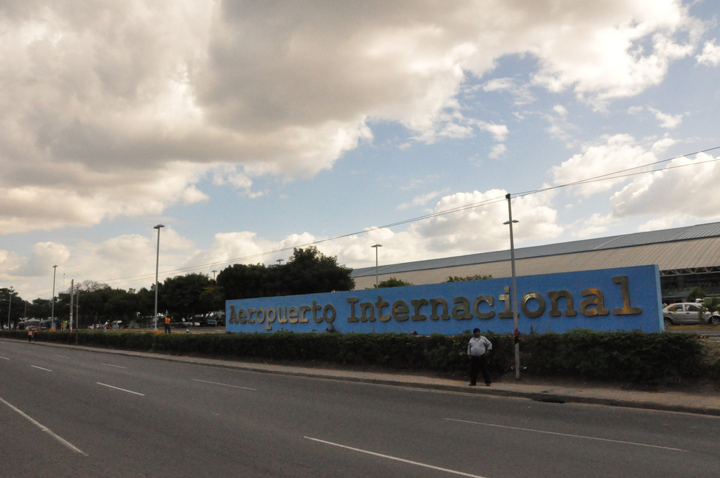 Entrance of Managua International Airport